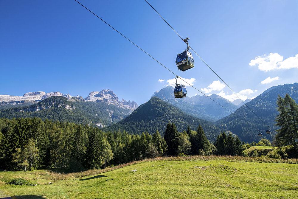 Vacanze in Trentino con la famiglia_ Madonna di Campiglio Panorama - Fototeca Trentino Sviluppo S.p.A. - FOTO DI Paolo Bisti - Luconi