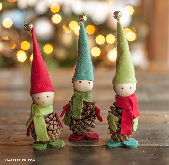 come usare le pigne elfi
