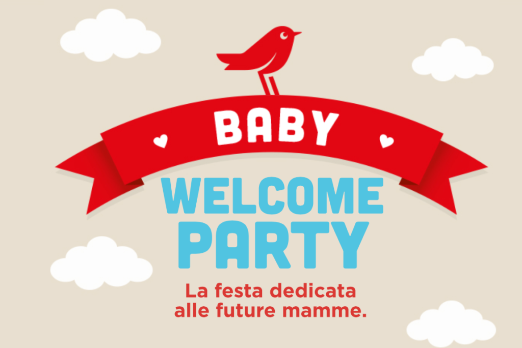Baby Welcome Party LOGO AUCHAN