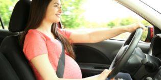 Guidare in gravidanza è pericoloso?