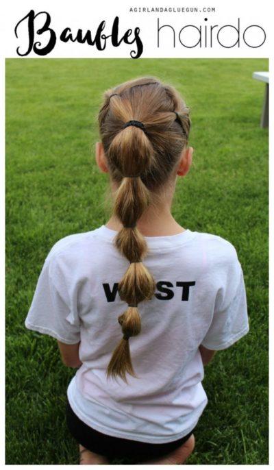 acconciature facili e veloci per bambine