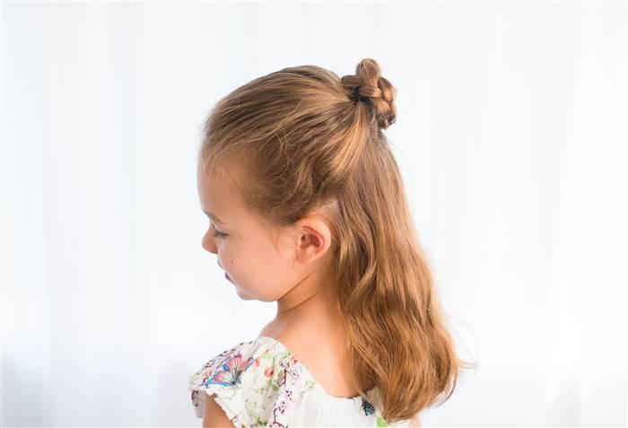 acconciature per bambine facili e veloci