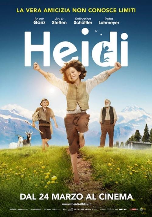 film da vedere per la festa dei nonni Heidi
