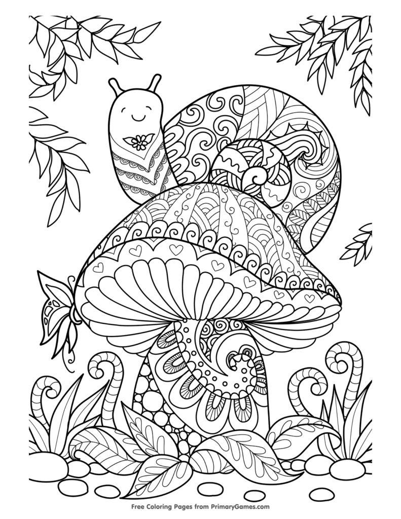 disegni da colorare autunno gratis