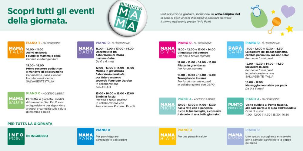 Humanitas MAMA _PROGRAMMA Giornata