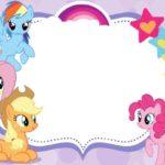 Inviti per festa di compleanno da stampare gratis _My Little Pony