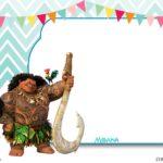 Inviti per festa di compleanno da stampare gratis _Vaiana