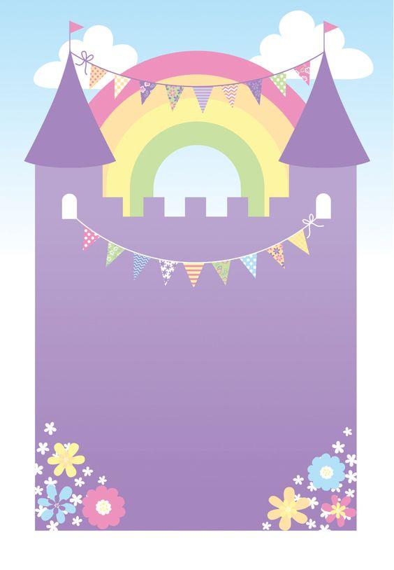 Inviti per festa di compleanno da stampare gratis _castello