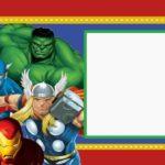 Inviti per festa di compleanno da stampare gratis _supereroi