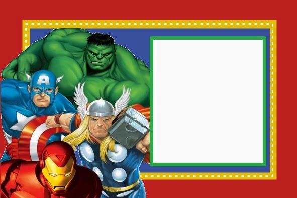 Immagini Di Inviti Compleanno Bambini Da Stampare Avengers