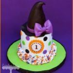 Torte di Halloween per feste di compleanno bambini _ con cappello