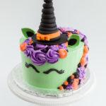 Torte unicorno per feste di compleanno a tema halloween