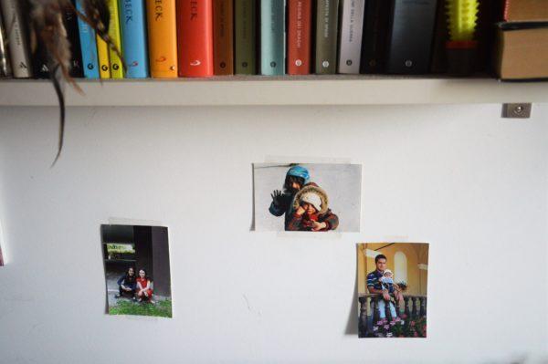 arredare la camera di un adolescente con le foto