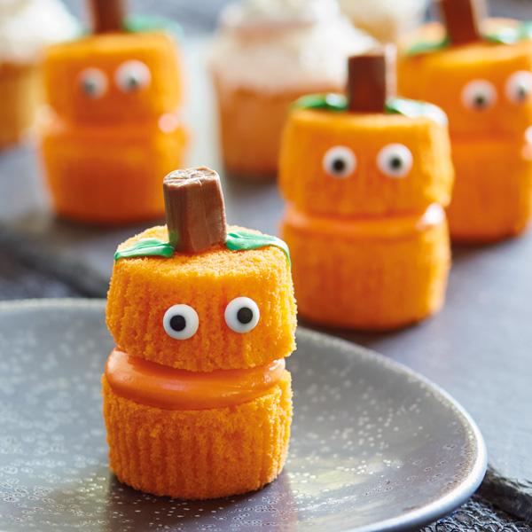 Cupcake di Halloween da fare con i bambini - zucche stregate