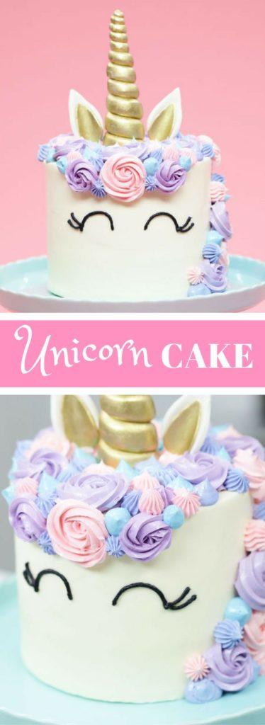 torte unicorno per feste di compleanno bambini _ tutorial