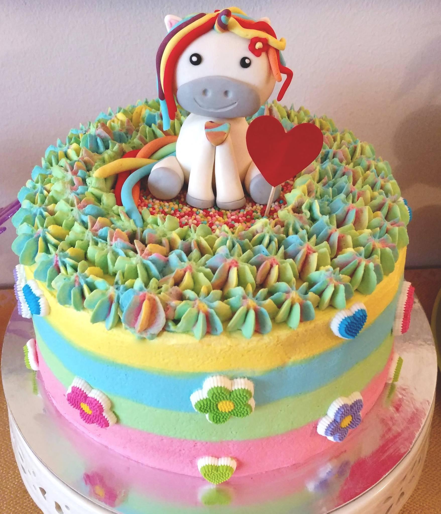 Torte Unicorno Per Feste Di Compleanno Bambini Con