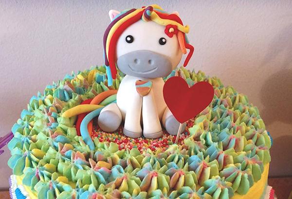 torte unicorno per feste di compleanno bambini con sfumature ganache_ copertina