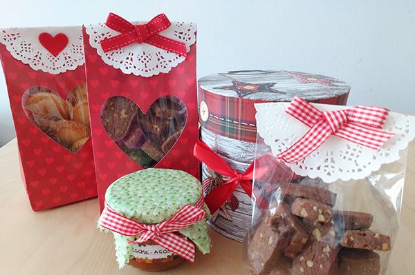 5 biscotti di Natale da regalare _ confezioni regalo