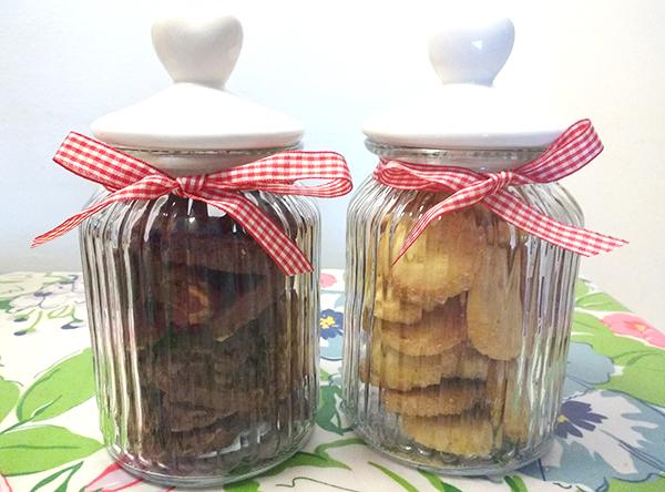 5 biscotti di Natale da regalare _biscotti allo zenzero e limone in barattolo