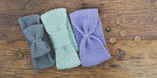 Fascia per capelli di lana all'uncinetto fai da te: modelli e tutorial