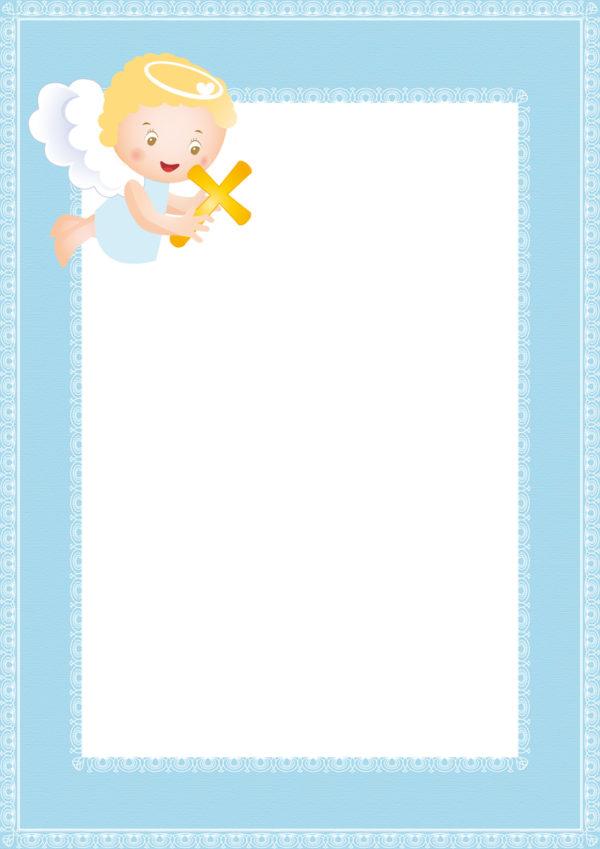 Ben noto Inviti del battesimo fai da te: immagini da stampare : Blogmamma.it GC87