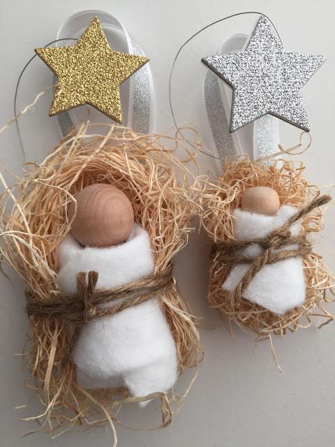 lavoretti di Natale per scuola primaria e oratorio: gesù bambino