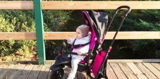 SmarTfold, il triciclo che si adatta alle esigenze del bambino e cresce con lui