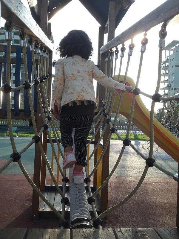 tenersi in forma con i bambini al parco