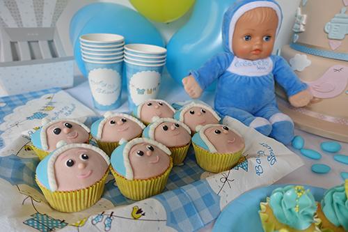 Cicciobello bebè bellissimo _baby shower e cupcake