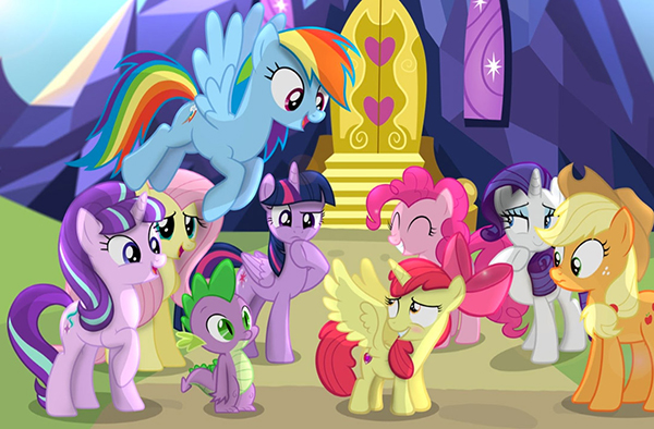 My Little Pony il film - pony e draghetto
