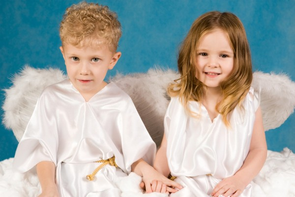 costumi presepe vivente angelo