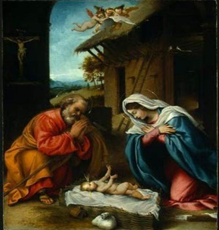 natività Lorenzo Lotto