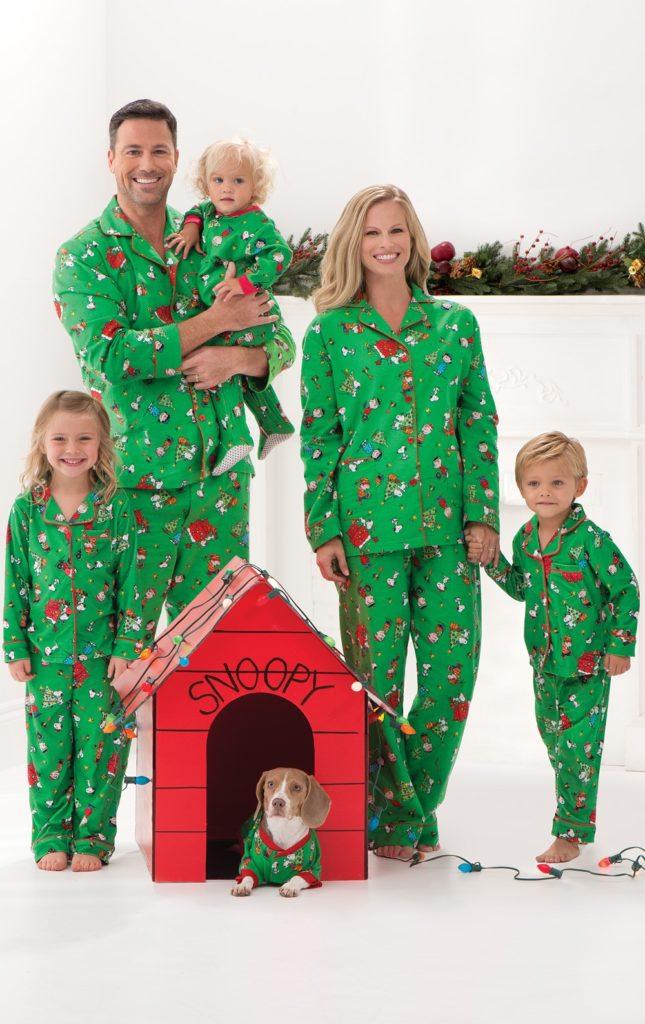 pigiami di Natale tutta la famiglia