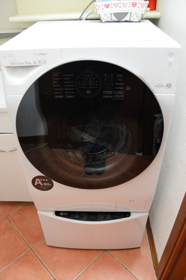 LG TWINWash lavatrice