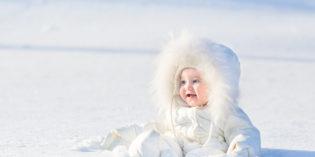 Sulla neve col bebè: 8 cose da sapere