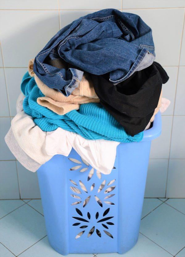 cesto di biancheria per lavatrice
