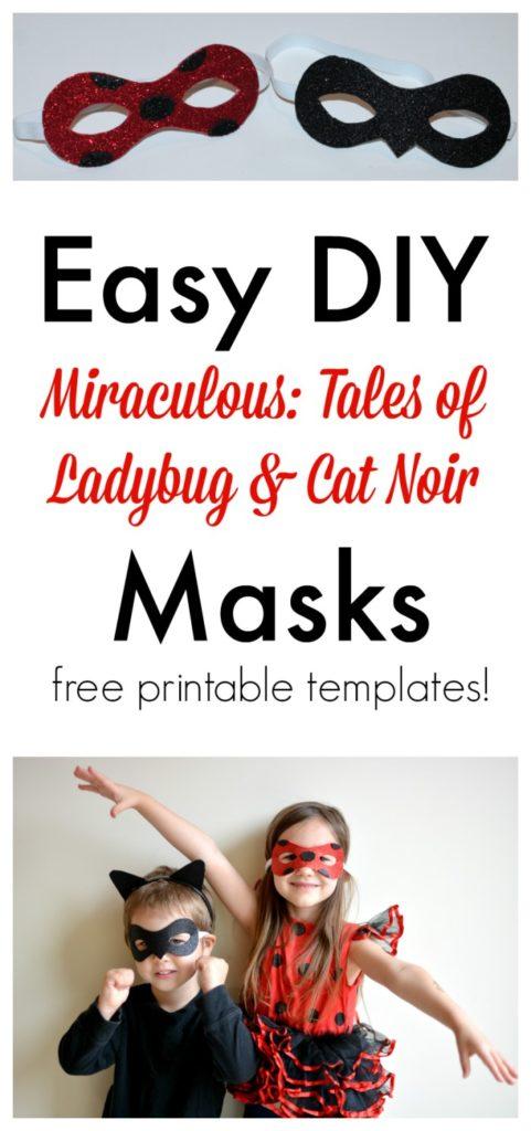 maschere costume da ladybug