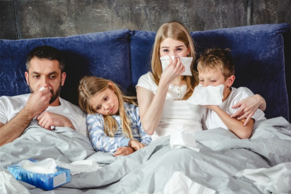 impacchi febbre alta