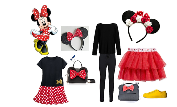 costume minnie fai da te