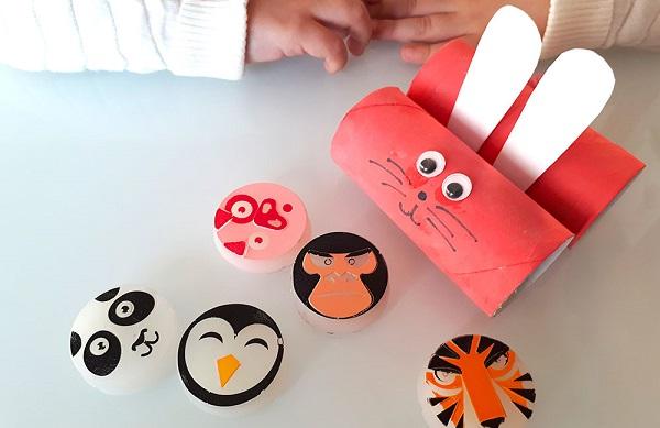Rotoli Di Carta Igienica : Come realizzare animaletti con i rotoli di carta igienica