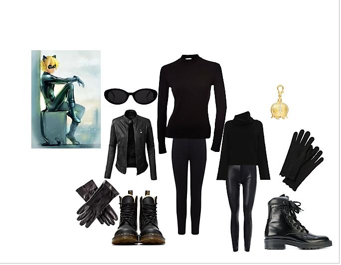 costume chat noir fai da te