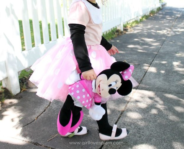 costume minnie fai da te gonna tulle