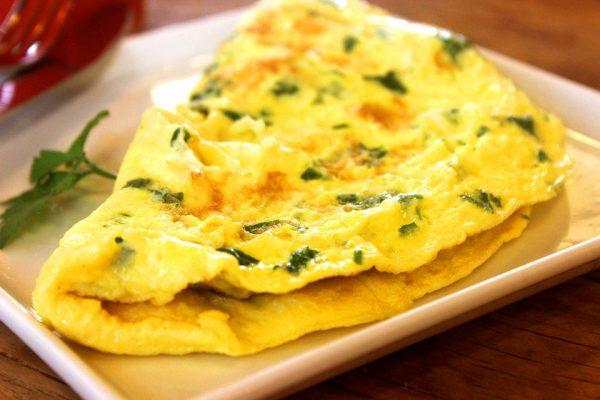 Frittata con verdure riciclate da brodo vegetale