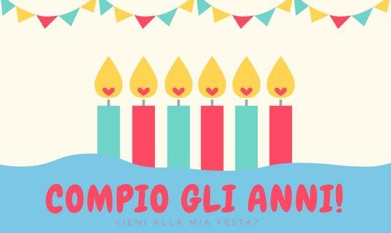 Inviti Digitali Per Feste Di Compleanno Da Mandare Via Whatsapp