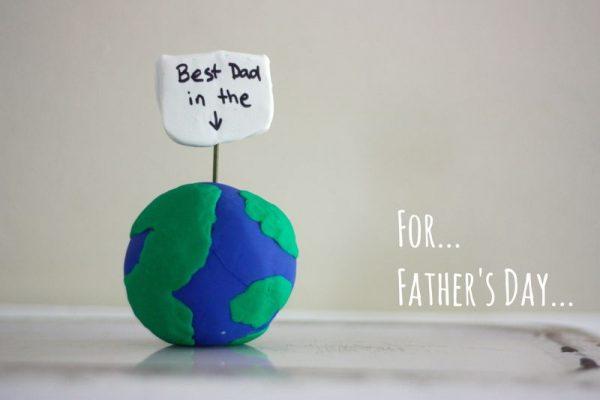 lavoretti creativi facili festa papà asilo nido impronte