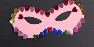 Maschere di Carnevale da colorare per bambini dell'asilo