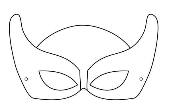 Maschere Di Carnevale Da Colorare Per Bambini Scuola Primaria