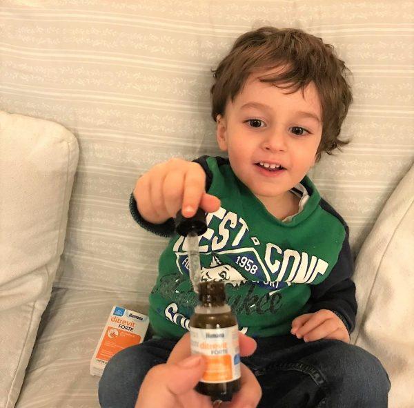 vitamina D bambino