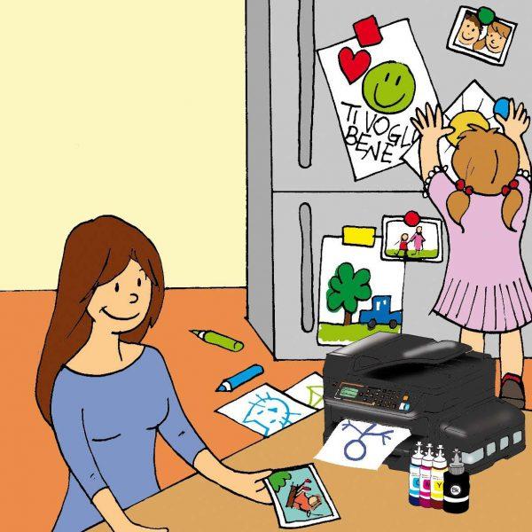 stampanti epson aiuto nella gestione dei figli