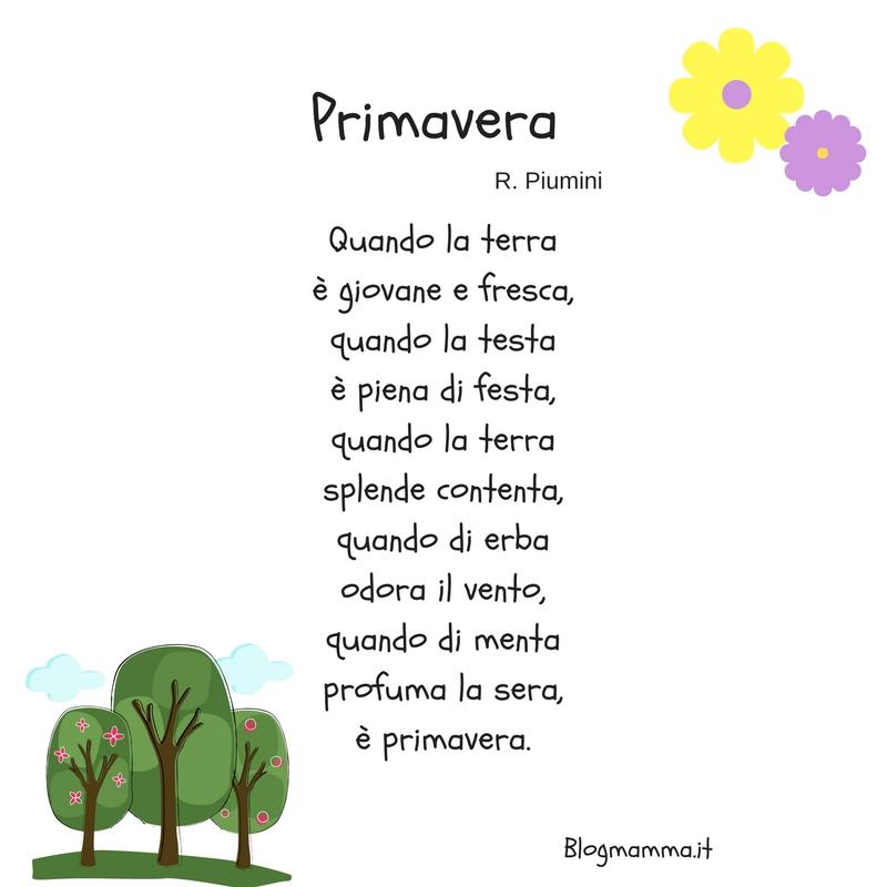 poesia primavera piumini